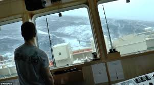 Image result for ship caught in storm image
