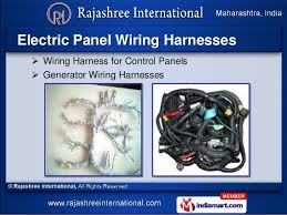 automobile wiring harness by rajashree international pune wiring harness for home appliances refrigerator 7 electric panel