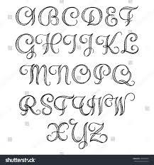 красивый английский шрифт для тату Letteroil