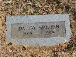 Ida Ray Cockrell McQueen (1898-1998) - Find A Grave Memorial