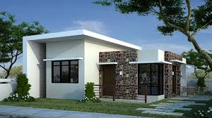 image of bungalow modern house plans wall