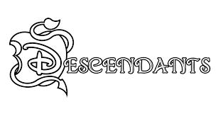 The Descendants Disney Logo Coloriage The Descendants