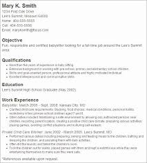 Nanny Resume Examples Simple 60 Nanny Resume Examples Free Resume