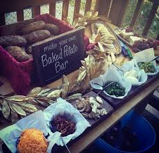 baked potato bar display. Wonderful Display Doing This For My Wedding But Mashed Potatos And Gonna Be Classy In  Martini Glasses U003d Inside Baked Potato Bar Display A