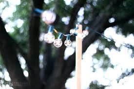 How To Hang String Lights In Backyard Without Trees Classy How To Hang String Lights In Backyard Without Trees Gonanoco