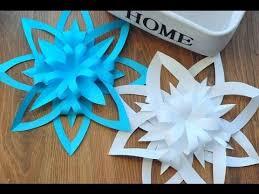 paper snowflakes 3d 42 beautiful diy paper snowflakes 3d diy paper