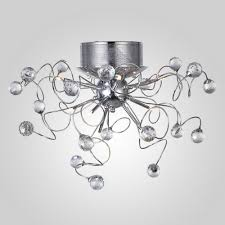 Spiral Flush Ceiling Light Mamei Free Shipping High Quality Spiral Crystal Modern