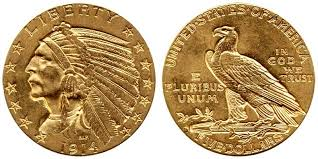 Indian Head Value Chart Indian Head Gold 5 Half Eagle Price Charts Coin Values