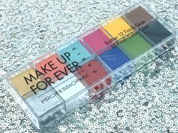 make up for ever flash palette review and swatches