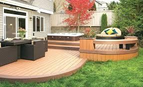 Backyard Deck Design Interesting Design Ideas