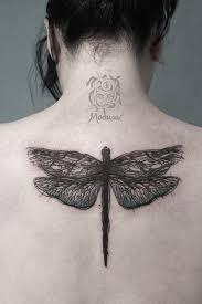 Vážka Medusa Tattoo Originální Tetování Frýdek Místek