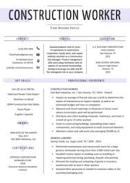 Construction Worker Cover Letter Examples Construction Cover Letter Example Writing Tips Resume Genius