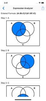 A Ub Venn Diagram Venn Diagram Shader On The App Store