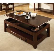 square shape wood dark brown on carpet with grey color steve silver coffee table sets nelson
