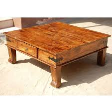 Lincoln Study Square Keepsake Coffee Table is made with solid Indian  Sheesham hard wood, a