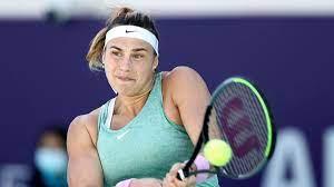 WTA-Turnier in Abu Dhabi: Sabalenka ...