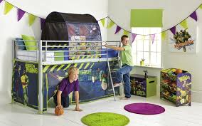 bedding round throw bedroom rugetal children loft with funky superhero tent for boys beds