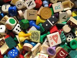 Wooden Game Pieces Bulk