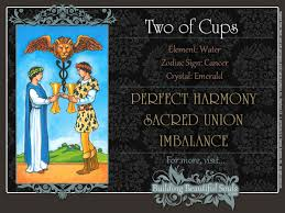 the two of cups tarot card meanings