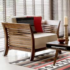 contemporary wood sofa. Wooden_single_seater_sofa Contemporary Wood Sofa B
