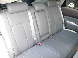 clazzio second row grey leather seat covers