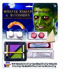 image is loading ugly monster frankenstein makeup accessories kit teeth bolts