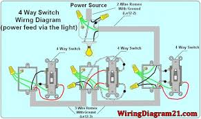 4 way light switch wiring diagram house electrical wiring diagram wiring a double switch for 2 lights at Double Pole Switch Wiring Diagram Light