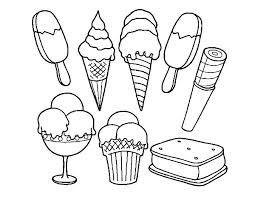 ice cream sandwich coloring pages. Ice Cream Coloring Pages With Sandwich