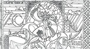 Free Religious Stained Glass Coloring Pages Iamdriverinfo