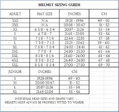51 Methodical Studds Helmet Size Chart