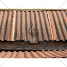 a roof rusty corrugated iron metal texture
