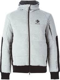 Rlx ralph lauren Zipped Padded Jacket in Gray for Men   Lyst