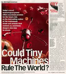 prey com could tiny machines rule the world parade magazine ldquo