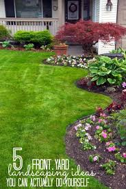 Small Picture 5 Front Yard Landscaping Ideas You Can Actually Do Yourself Yard