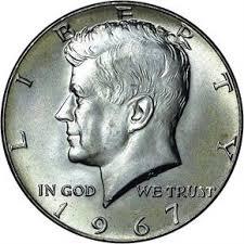 1967 Kennedy Half Dollar Value Chart 1967 50c Ms Kennedy Half Dollars Ngc