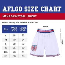 Basketball Shorts Size Chart Space Jam Basketball Tune Squad Shorts Aflgo