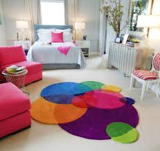 bubles contemporary round rugs