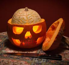 Pumpkin with Brains | Amazing Jack-O-Lantern Carving Ideas for YOU and the