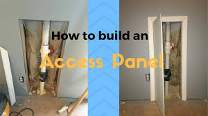 plumbing access panel. Beautiful Access How To Build An Access Panel On Plumbing Access Panel A