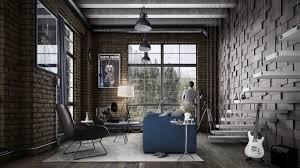 industrial living room furniture. Fascinating Living Room Industrial Look Furniture Modern For Interior Design N