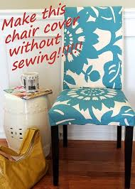 no sew cover parsons chair would love this in the living room at our desk maybe in a mustard yellow with this pattern wish i could find it and that s