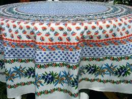 french country tablecloth round tablecloths rooster ta