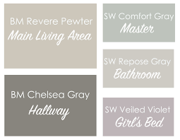 pewter color paintRevere Pewter Coordinating Paint Colors  This Bold Home