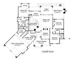 house plans 2000 square feet one level house scheme