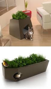 jardin chic is showing that pet friendly furniture can also be chic take a look at these planters with dual functions they serve as green spaces and chic cat furniture