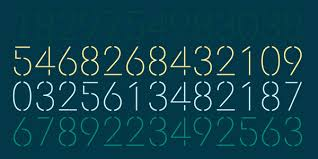 Number Stencil Font Doctrine Stencil Display Typeface By Virus Font Foundry