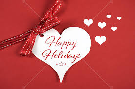 merry christmas and happy holidays text. Modren And Merry Christmas Happy Holidays Greeting On White Heart Gift Tag Red  Background With Sample Text With And Text S