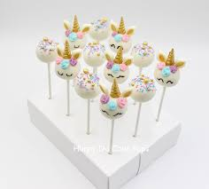 Unicorn Themed Cake Pops Hunny Do Cake Pops