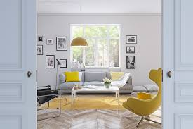 Orange And Yellow Living Room 25 Gorgeous Yellow Accent Living Rooms