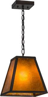 mica pendant lighting meyda 156357 mission prime wrought iron amber mica